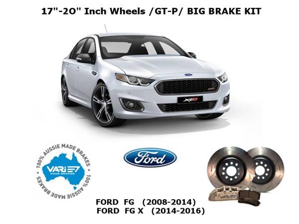 Vari - Ford Falcon, FG & FGx Big brake kits, GT-P